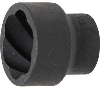 Llave de vaso extractora en espiral 1/2, 27 mm
