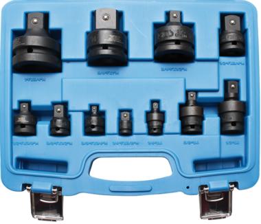 Adaptador de impacto de 11 piezas y juego de juntas universal, 1/4 - 1