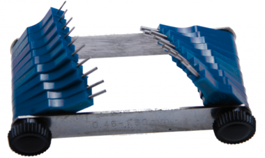 Galgas de inyectores 0,45 - 1,50 mm 20 piezas