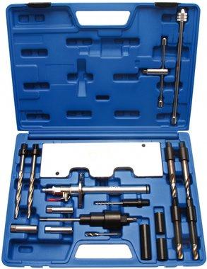 Juego 28 piezas de herramientas de reparacian de roscas de calentadores VW / Audi