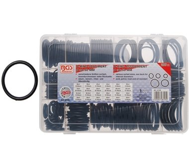 285-delige XXL O - Ring Assortiment 18-50 mm