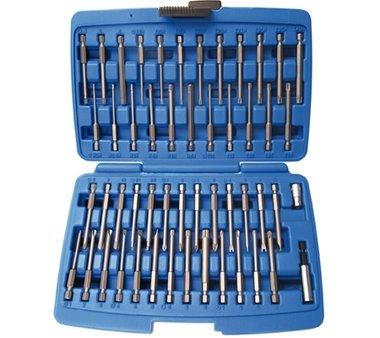 Juego 51 piezas de puntas para tornillos de seguridad