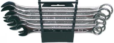 Juego de llaves combinadas medidas en pulgadas 3/8 - 11/16 6 piezas