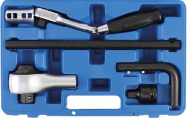 Juego multiplicador de par 12,5 mm (1/2) + 20 mm (3/4) 6 piezas