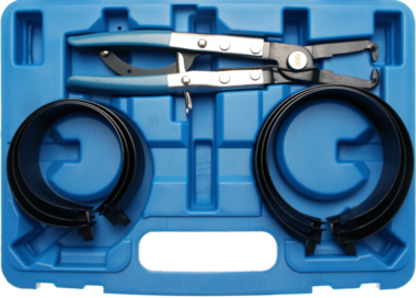 Juego 7 piezas de alicates para segmentos con cinta