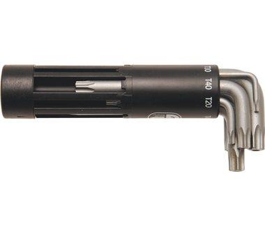 8 - stuk Torx Sleutel met gat Korte Type T10 - 50