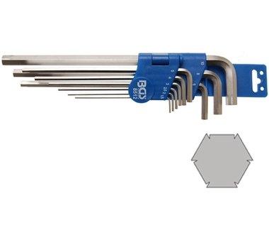 Juego de llaves allen especial hexagono interior 1,5 - 10 mm 9 piezas