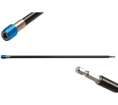 Portapuntas automático | hexágono interior 6,3 mm (1/4) | 450 mm