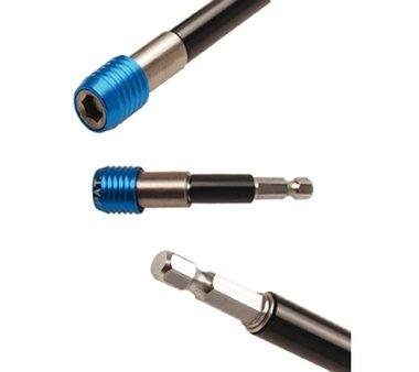 Portapuntas automático | hexágono interior 6,3 mm (1/4) | 80 mm