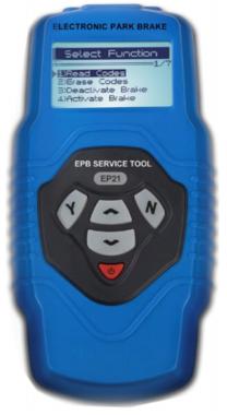 Unidad de reajuste electrónico y diagnóstico del freno EPB / SBC