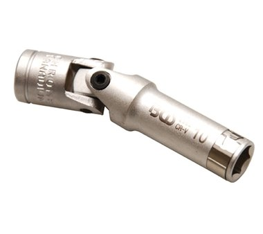 Llave de vaso para calentadores articulada hexagonal entrada (3/8) 10mm