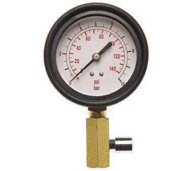Manómetro con válvula para el Test para la presión de aceite BGS 8007