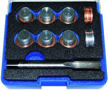 Juego de reparacion para el tapon del carter M14 x 1,25 25 piezas