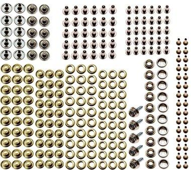Surtido de ojales y botones para BGS 572 195 piezas