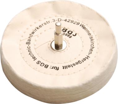 Disco de pulido con mandril de 6 mm
