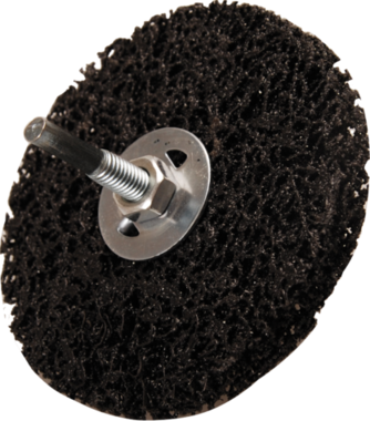 Muela abrasiva negro Ø 100 mm agujero de sujeción 16 mm