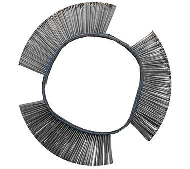 Cepillo de alambre recto 103 x 23 x 0,5 mm