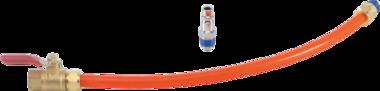 Manguera de repuesto con válvula para BGS 68000