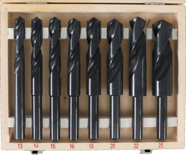 Juego de brocas HSS 13 - 25 mm 8 piezas