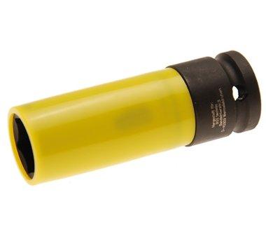 Vaso de impacto con protector de plástico 1/2, 19 mm