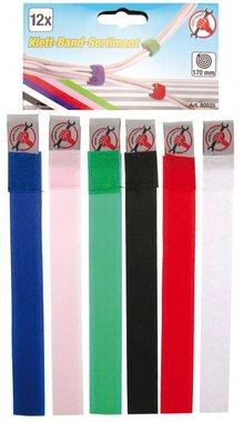 12 piezas de cintas de velcro surtidas