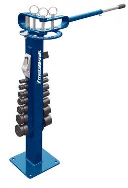Universal de la maquina de flexion para plana, rectangular, redondo hasta 180 °