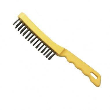 Cepillo de alambre de la mano de 4 filas 0,10kg