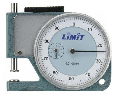Modelo de bolsillo de 10 mm con medidor de grosor analogico