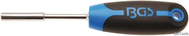 Mango giratorio para puntas cuadrado exterior 6,3 mm (1/4) 200 mm