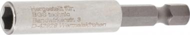 Portapuntas magnético, extrafuerte hexágono exterior 6,3 mm (1/4) 60 mm