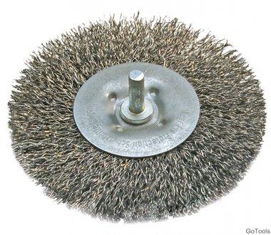 Disco de alambre circular rizado, diametro 100 mm