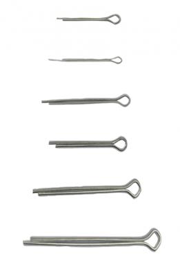 Surtido de pasadores Ø 1,6 - 4,0 mm 555 piezas