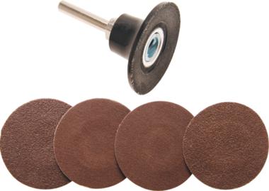 Discos abrasivos de 50 mm con adaptador