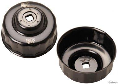 Llave de filtros de aceite 15 caras Ø 75 - 77 mm para Audi, Ford, Isuzu, Mercedes-Benz, Opel, VW