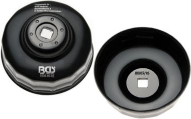 Llave de filtros de aceite 15 caras diámetro 80 - 82 mm