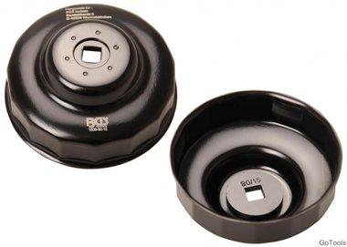 Llave de filtros de aceite 15 caras Ø 90 mm para Honda, Mazda, Nissan, Subaru, Toyota