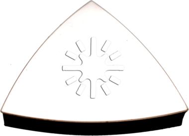 Soporte para lijas almohadilladas triangulares para BGS 8580