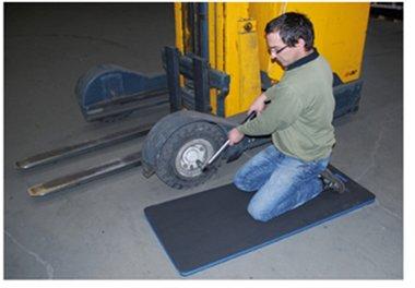 Protector de rodillas/camilla 1200 x 540 x 30 mm