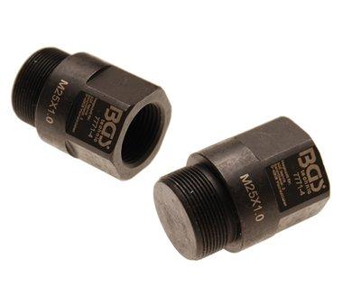 Adaptador de desmontaje de BGS 7771 M25 x M20 x 41 mm
