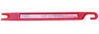 Rascador de tubos de freno | 160 x 14 x 6 mm