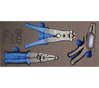Tool Tray 1/3: Alicates pelacables 3 piezas