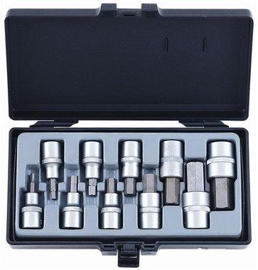 Conjunto de destornillador hexagonal de sockets de 10 1/2 pulgada