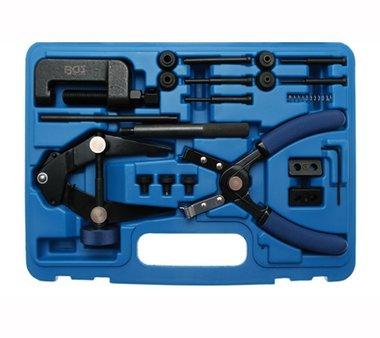 Conjunto de herramientas de cadena de motocicleta 21 piezas