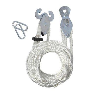Polea de grúa con cuerda de nailon de 20M