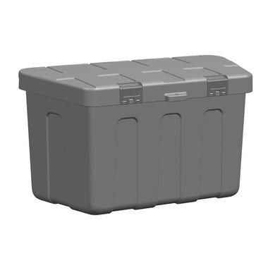 Caja de almacenamiento de plástico de remolque 320 x 630 x 355mm