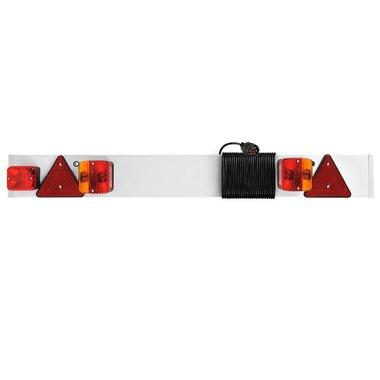 Barra de luces de remolque con luz antiniebla + cable de 5M