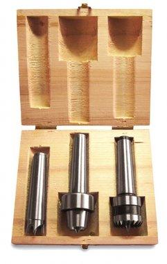 Set 3 raspadores torno de madera