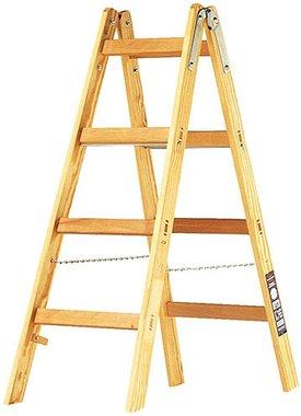 Escalera de madera 2x4 peldanos Altura del marco escalera 1,2m