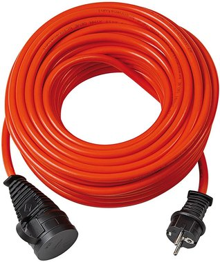 BREMAXX Cable de extension IP44 25m naranja