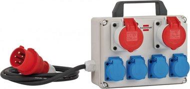Mini distribuidor de energía BKV 2/4 T IP44